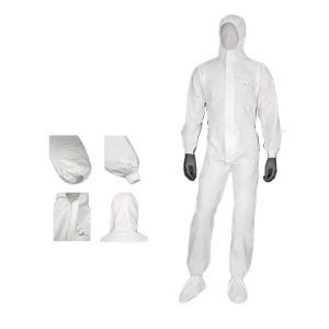 White Personal Protective Wear by Dels Apparel